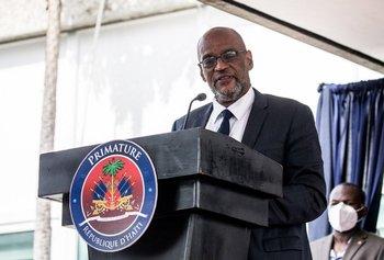Primer ministro de Haití, Ariel Henry