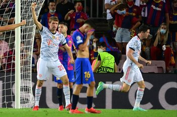 Lewandowski, letal contra Barcelona