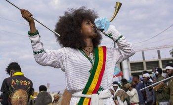El pasado sábado, los etíopes dieron la bienvenida al año 2014