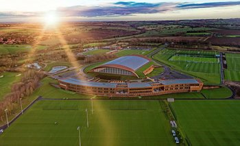El campo de entrenamiento del Leicester City