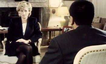 Lady Di en la entrevista para la BBC