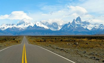 La ruta 40 atraviesa Argentina