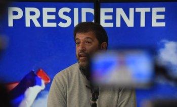 Pereira lanza su candidatura para presidir al FA en Ciudad Vieja, Montevideo