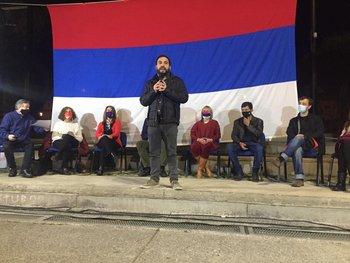 Gonzalo Civila lanzó su candidatura en el FA