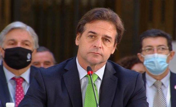 Lacalle se cruzó con Maduro y Díaz Canel por falta de DDHH en Venezuela y  Cuba