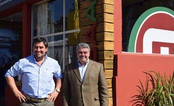 Juan Miguel Otegui y José Pedro Aicardi.
