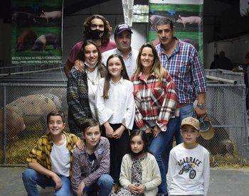 Familia Lodeiro.