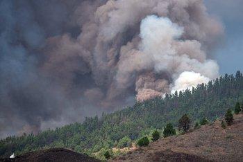 El volcán Cumbre Vieja entró en erupción en Canarias
