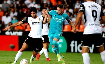 Valverde marca a Gonçalo Guedes