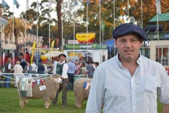 Mariano Rodríguez, nuevo presidente de la Sociedad de Criadores de Corriedale del Uruguay.