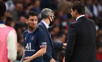 La cara de Messi al salir lo dice todo