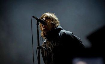 Liam Gallagher durante su presentación en el Festival de Isla de Wight, Inglaterra