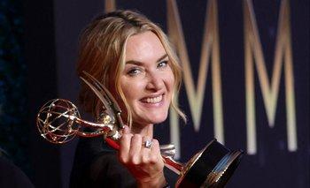 Kate Winslet se llevó el premio por su actuación en Mare of Easttown