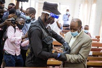 """El héroe del """"Hotel Ruanda"""" fue condenado a 25 años"""