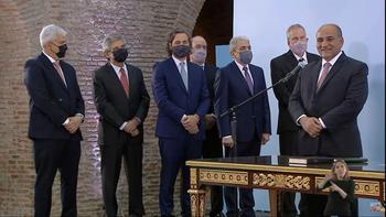 Juran los nuevos ministros tras la negociación entre Alberto Fernández y Cristina Kirchner