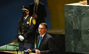 Bolsonaro abrió la Asamblea de la Onu y se manifestó en contra del pasaporte sanitario