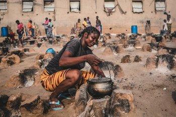 """Desplazados internos en el """"cinturón medio"""" de Nigeria"""