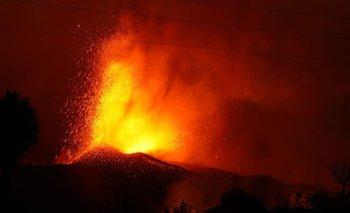 La erupción del volcán Cumbre Vieja