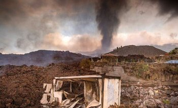 El volcán Cumbre Vieja, en España, entró en erupción el pasado 19 de setiembre