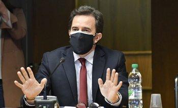 Germán Cardoso ante la comisión investigadora