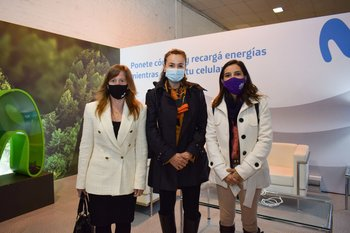 Leticia lago, Mercedes Aramendia y María Victoria Vera