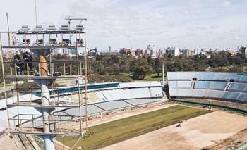 Estadio Centenario se prepara para las finales de noviembre