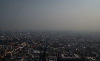 La ciudad de México es conocida por su baja calidad del aire.