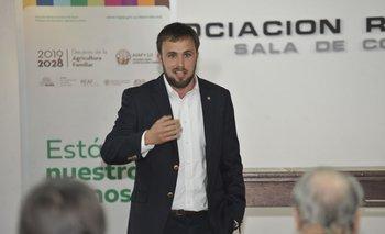 Carlos Rydstrom, director de Desarrollo Rural.