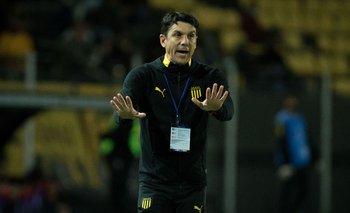 Larriera dijo que a Peñarol le faltó eficacia en las áreas