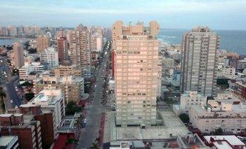 El apartamento tiene una superficie de 89,59 metros cuadrados.