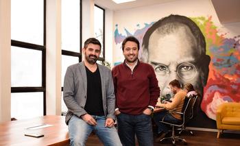 Pablo Tiscornia, Head de Innovación de GrupoRUAy Director de Coopera, y Diego Sayanes, CEO de Grupo RUA.