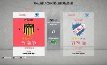 Nacional y Peñarol en FIFA 22