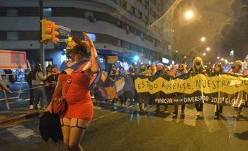 """""""Estado Ausente"""" fue una de las consignas de la Marcha de la Diversidad 2021"""