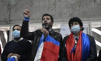 Gonzalo Civila, Fernando Pereira e Ivonne Passada.