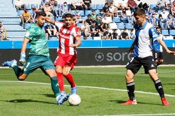 Luis Suárez en el partido de este sábado