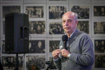 """García llamó a """"ponerse la camiseta de militante"""", en defensa de la LUC"""