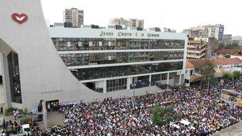 La Iglesia Universal en Maputo, capital de Mozambique, donde su proyecto de transnacionalización tuvo buenos resultados