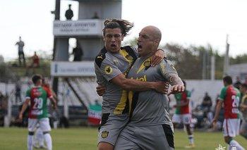 Canobbio y Nahuelpán, figuras de Peñarol
