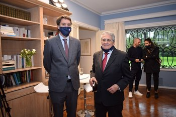 Pierre Martinez y Rober Miles