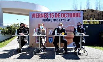 Victoria Lafluf, Sandra Marcos, Ricardo Méndez y Fabricio Patriti