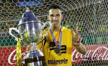 El saludo de Maxi Rodríguez a Peñarol