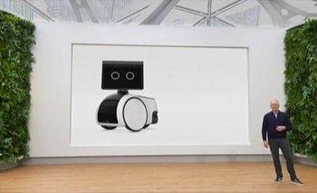 Amazon presenta su nuevo robot doméstico.