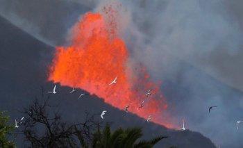 Volcán en Islas Canarias