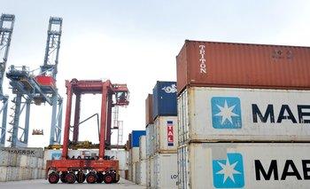 Operaciones en el puerto de Montevideo