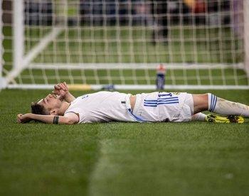 Federico Valverde terminó fundido el martes