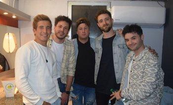 La banda regresó este martes en el Teatro Movie, donde se presentó su nueva canción y dieron un espectáculo con aforo limitado