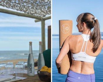 Agua Local y Sukha, dos proyectos argentinos que llegan a Uruguay para promover la sustentabilidad.