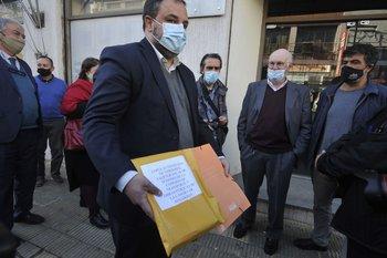 Frente Amplio presenta denuncia penal en la fiscalía de Montevideo, por acuerdo del gobierno con Katoen Natie
