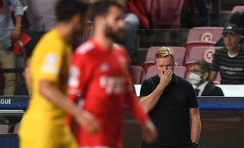 Koeman contra Benfica: el equipo fue un alma en pena