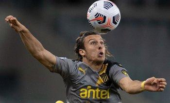Agustín Canobbio se encuentra suspendido y no podrá estar ante Wanderers